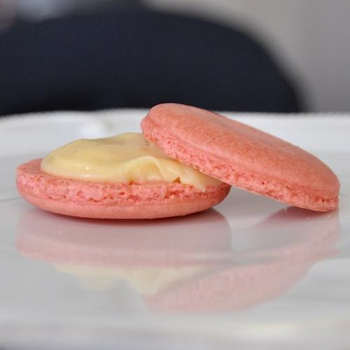 Macaron close up